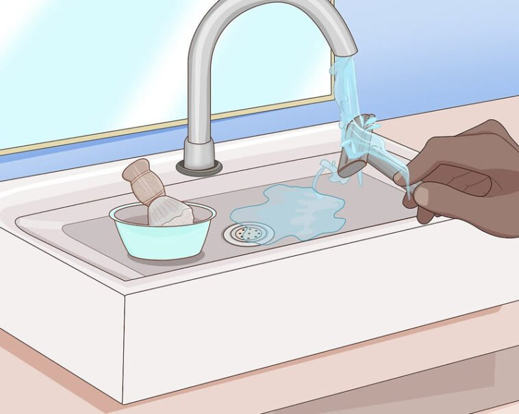 Turning off the tap while shaving, can save 10 gallons of water per shave