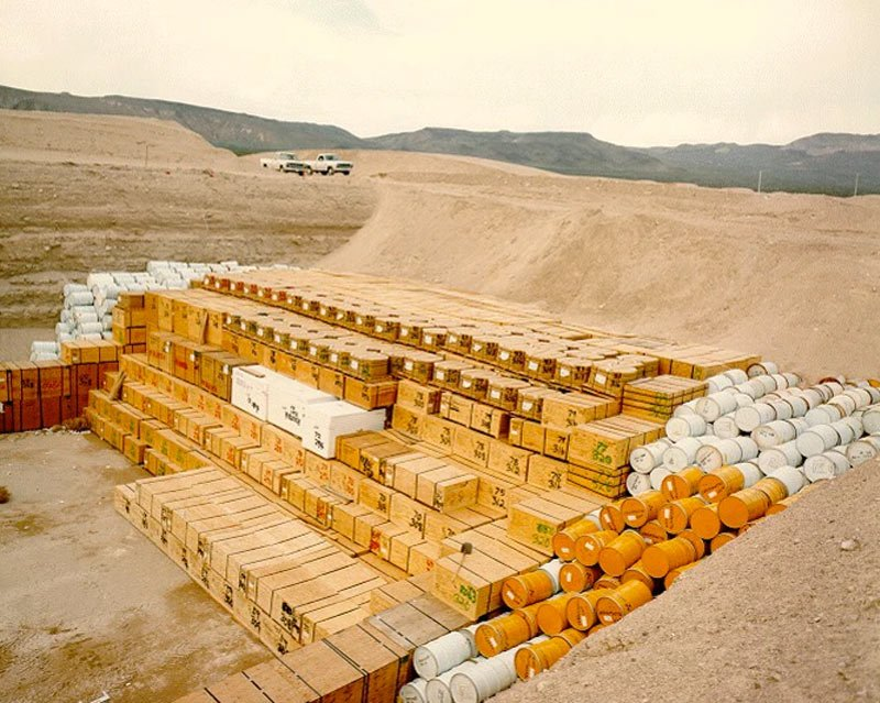 nuclear waste landfill can leak into groundwater and cause water pollution